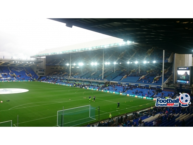 A photo of Goodison Park uploaded by biscuitman88