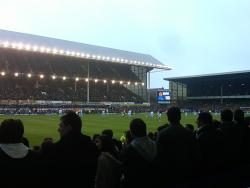 An image of Goodison Park uploaded by dannyptfc