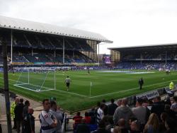 An image of Goodison Park uploaded by walkerboii