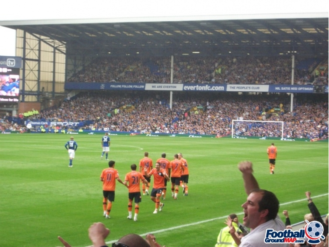 A photo of Goodison Park uploaded by walkerboii