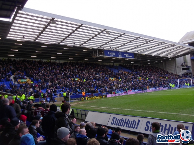 A photo of Goodison Park uploaded by smithybridge-blue