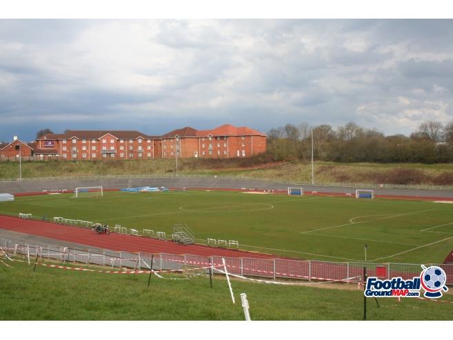 A photo of Gosling Stadium uploaded by johnwickenden