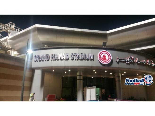 A photo of Grand Hamad Stadium uploaded by harrysheroes