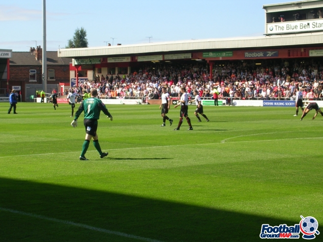A photo of Gresty Road (The Alexandra Stadium) uploaded by stuff10