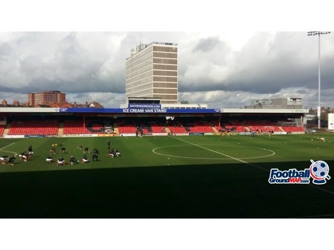A photo of Gresty Road (The Alexandra Stadium) uploaded by oldboy
