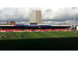 An image of Gresty Road (The Alexandra Stadium) uploaded by oldboy