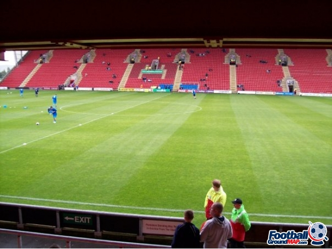 A photo of Gresty Road (The Alexandra Stadium) uploaded by chunk9