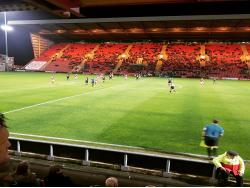 An image of Gresty Road (The Alexandra Stadium) uploaded by grifftinfoilhat
