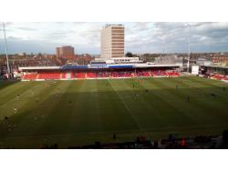 An image of Gresty Road (The Alexandra Stadium) uploaded by covboyontour1987