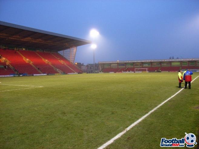 A photo of Gresty Road (The Alexandra Stadium) uploaded by danw2002