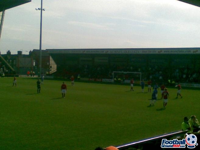 A photo of Gresty Road (The Alexandra Stadium) uploaded by steveshipman