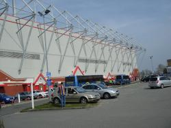 An image of Gresty Road (The Alexandra Stadium) uploaded by saintshrew
