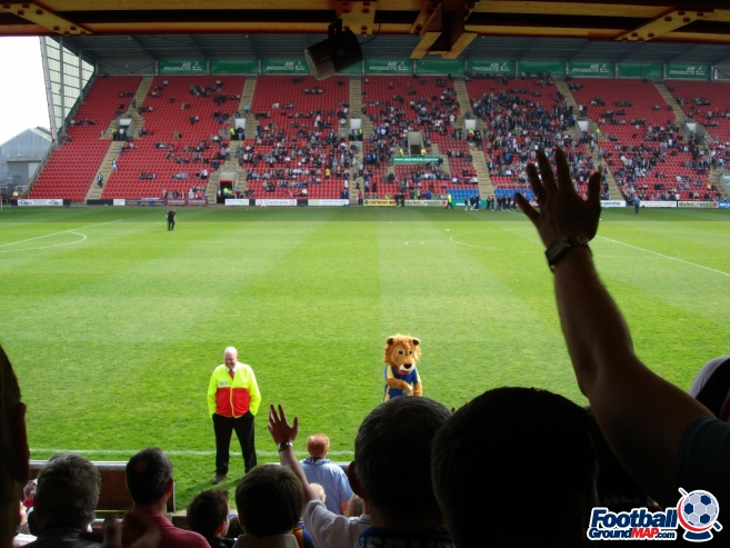 A photo of Gresty Road (The Alexandra Stadium) uploaded by saintshrew