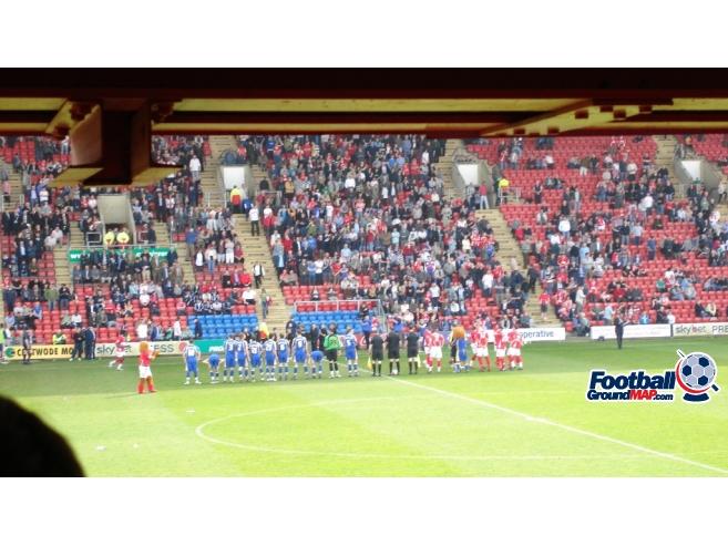 A photo of Gresty Road (The Alexandra Stadium) uploaded by saintshrew