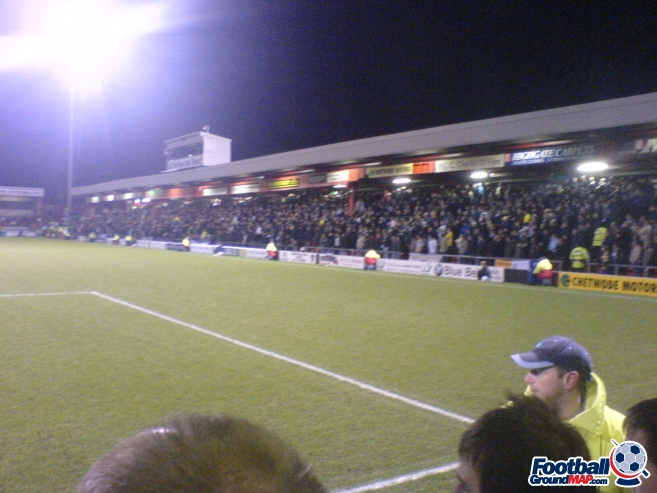 A photo of Gresty Road (The Alexandra Stadium) uploaded by marcjbrine
