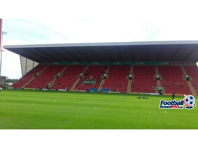 A photo of Gresty Road (The Alexandra Stadium) uploaded by ccfc4life