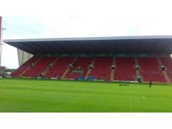 An image of Gresty Road (The Alexandra Stadium) uploaded by ccfc4life