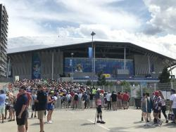 An image of Groupama Stadium (Parc Olympique Lyonnais) uploaded by spoons86