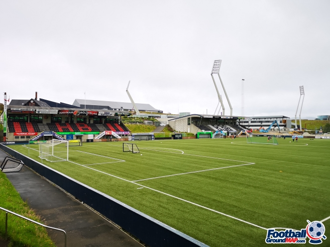 A photo of Gundadalur Stadium uploaded by paul4jags