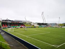 An image of Gundadalur Stadium uploaded by paul4jags