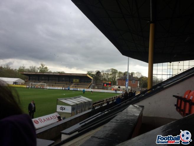 A photo of Haig Avenue (Merseyrail Community Stadium) uploaded by neal