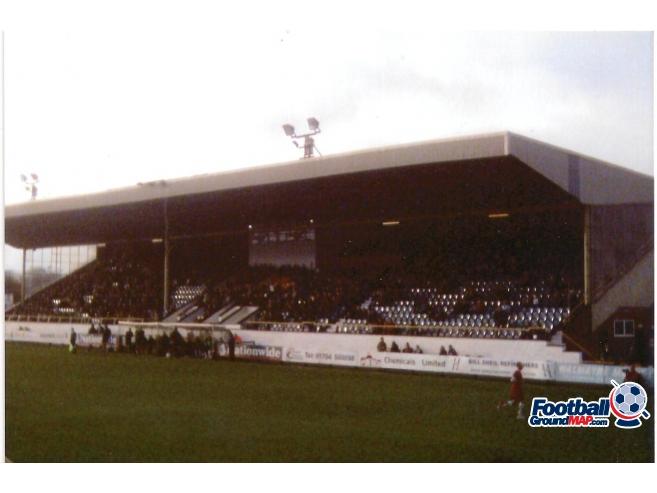 A photo of Haig Avenue (Merseyrail Community Stadium) uploaded by scot-TFC