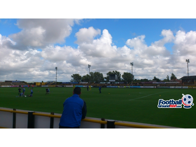 A photo of Haig Avenue (Merseyrail Community Stadium) uploaded by biscuitman88