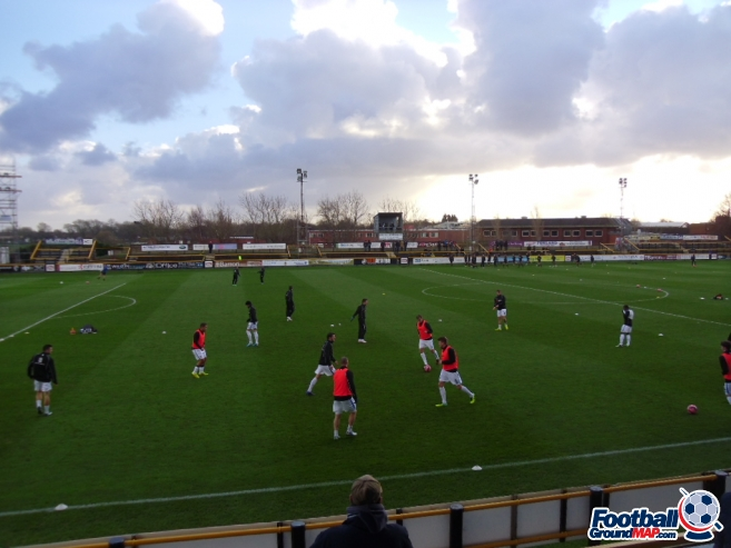 A photo of Haig Avenue (Merseyrail Community Stadium) uploaded by smithybridge-blue