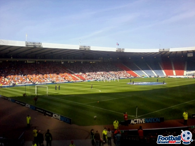 A photo of Hampden Park uploaded by peem86
