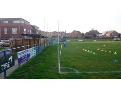 An image of Hanbury Stadium uploaded by biscuitman88