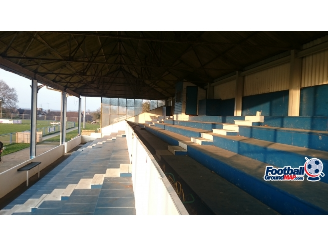 A photo of Hanbury Stadium uploaded by biscuitman88