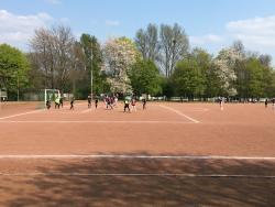 An image of Hartplatz TuSpo Huckingen Duisburg uploaded by ully