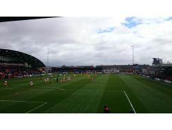 An image of Highbury Stadium uploaded by biscuitman88