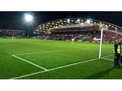 An image of Highbury Stadium uploaded by MattL