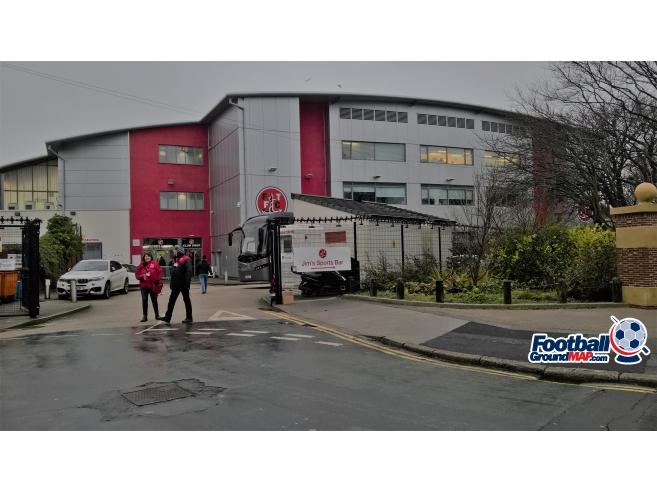 A photo of Highbury Stadium uploaded by MattL
