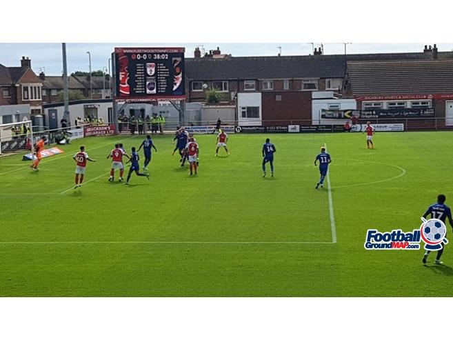 A photo of Highbury Stadium uploaded by oldboy
