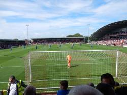 An image of Highbury Stadium uploaded by isad13