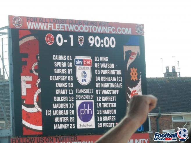 A photo of Highbury Stadium uploaded by isad13