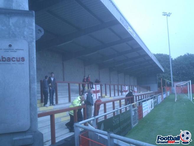 A photo of Highbury Stadium uploaded by ianbeardsley
