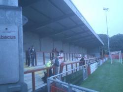 An image of Highbury Stadium uploaded by ianbeardsley