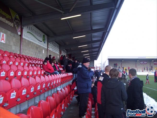 A photo of Highbury Stadium uploaded by facebook-user-89046