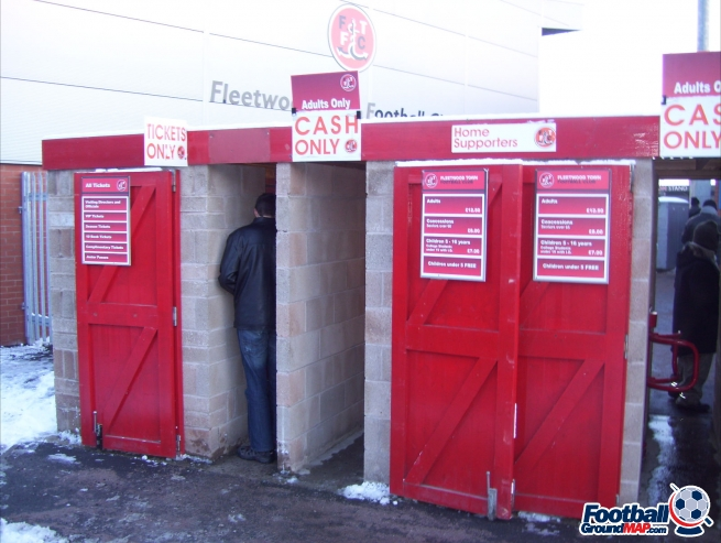 A photo of Highbury Stadium uploaded by facebook-user-89046