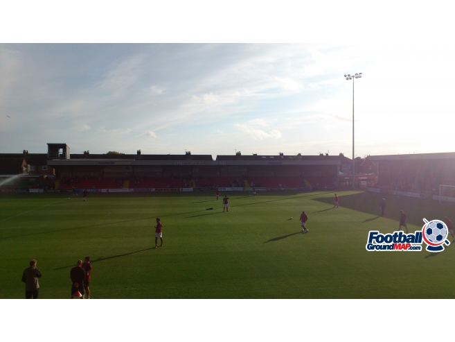A photo of Highbury Stadium uploaded by biscuitman88
