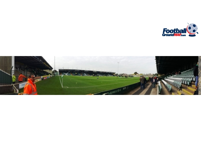A photo of Huish Park uploaded by oldboy