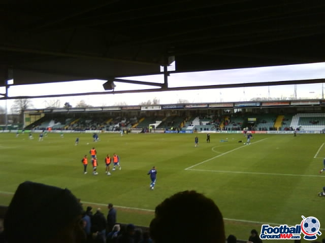 A photo of Huish Park uploaded by facebook-user-92338