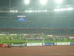 An image of Jawaharlal Nehru Stadium (Delhi) uploaded by etxebe