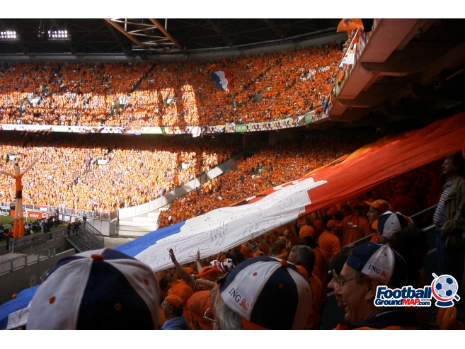 A photo of Johan Cruyff Arena (Amsterdam Arena) uploaded by paulthered