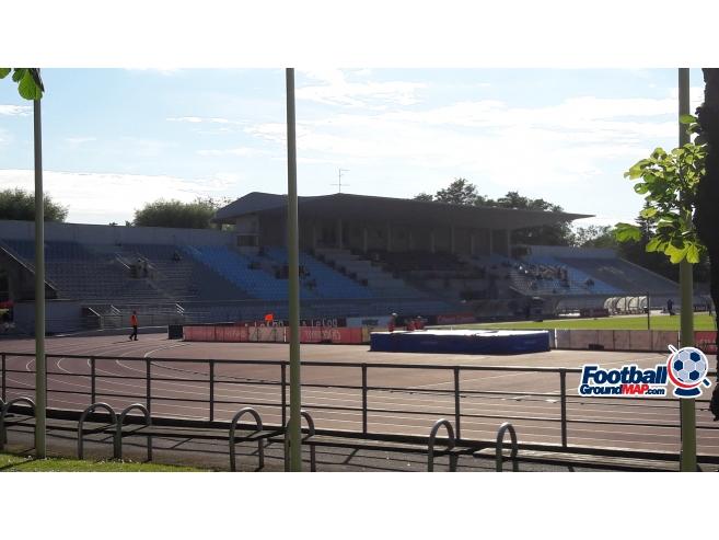 A photo of Kadriorg Stadium uploaded by Farman