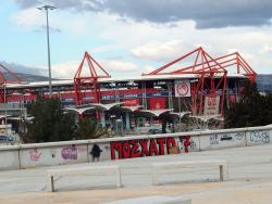 An image of Karaiskakis Stadium uploaded by babass