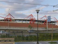 An image of Karaiskakis Stadium uploaded by minni
